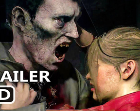 PS4 - Resident Evil 2: Licker Battle Gameplay Trailer (2018)