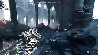 Satisfying moments in Battlefield five.