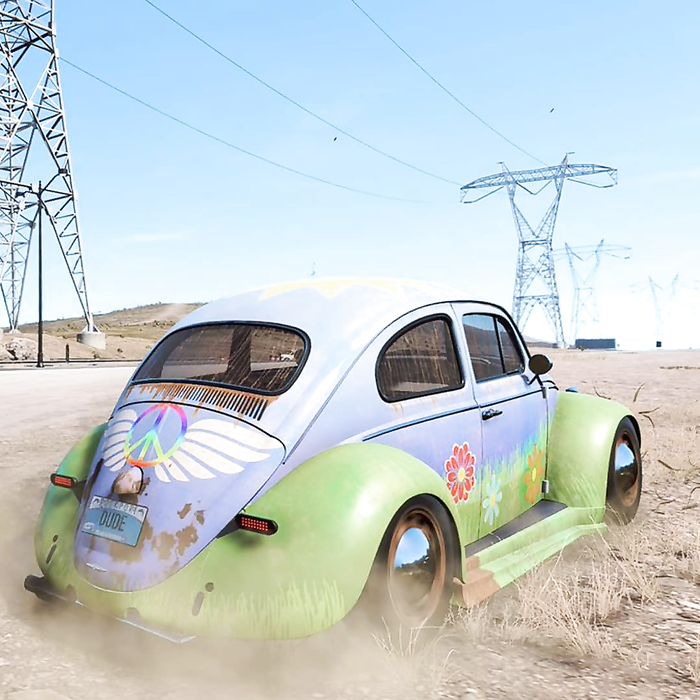 Get the groovy Spring Beetle chilling out next..