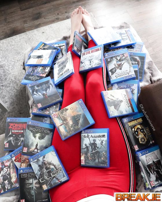 Sometimes you just want to be covered in games..