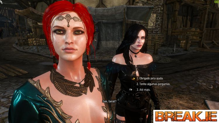 Girls are so beautiful and so real in video game - The Witcher 3.