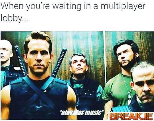 When you are waiting in a multiplayer lobby