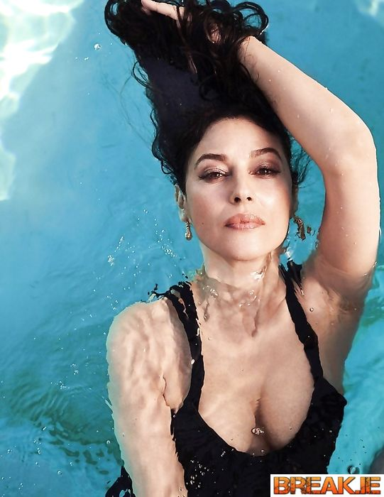 Monica Bellucci at her age 55 - Goddess, the ideal of female beauty.
