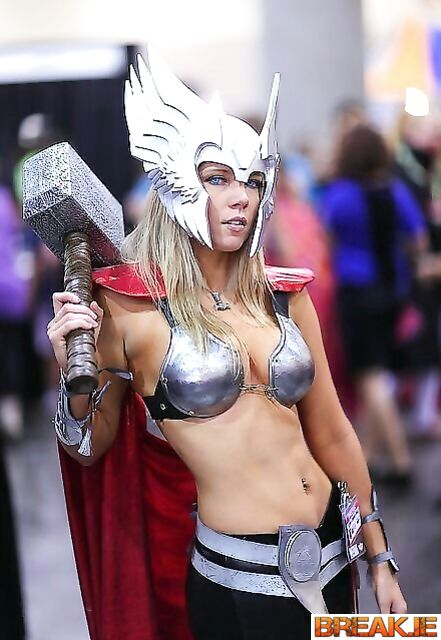 If the Goddess of Thunder, then only such one