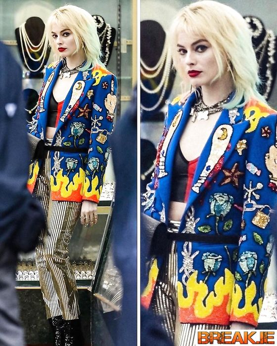 margot robbie and her images suicide squad