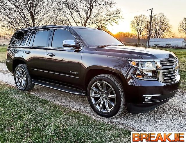 Chevrolet Tahoe 2021  Equipped with a V8