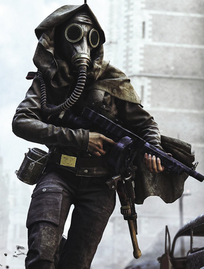 Awesome capture of a soldier in Battlefield Five