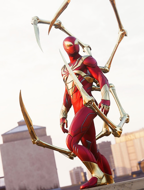 Iron Spider-Man.