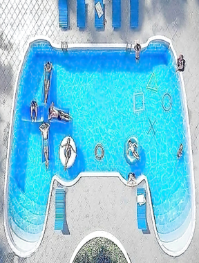 That's actually not a bad design for a pool.