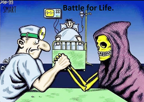 A Battle for a Life.