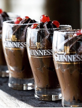 Guinness chocolate mousse courtesy.