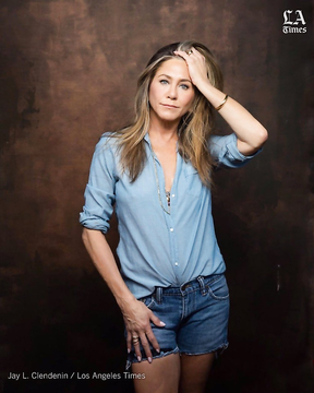 Jennifer Aniston in a new summer photo shoot for Los Angeles Times.
