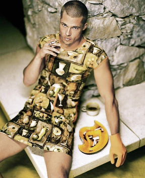 Probably Brad Pitt's craziest photo shoot