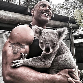 The strongest dad in Hollywood