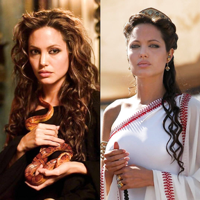 Angelina Jolie and her unforgettable photos