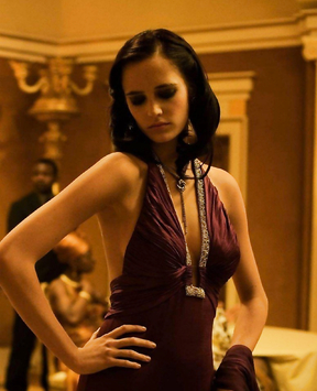 "Eva Green on the set of ""Casino Royale""  Woman of dreams"
