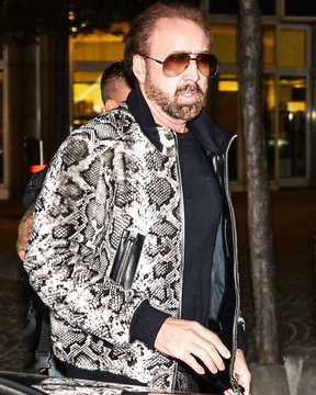 Nicolas Cage style icon in Hollywood