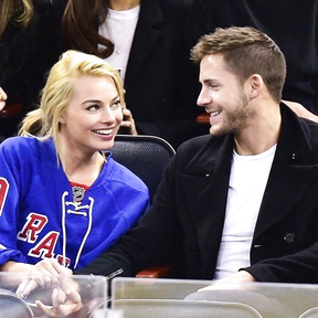 """Margot Robbie meet Tom Ackerley in 2014 during the filming of the film """"French Suite"""". Three years l"""