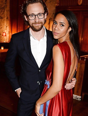Tom Hiddleston and his chosen one Zawe Ashton