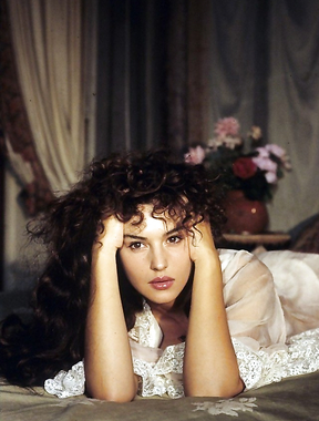Monica Bellucci in the 90s, a gorgeous woman