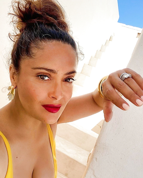 Salma Hayek at her 54, and she is still gorgeous