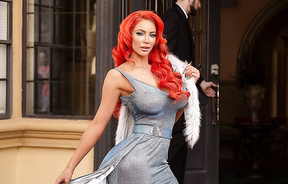 Beautiful red hair Nicolette Shea.