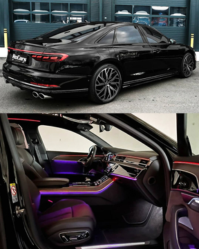 Audi S8 Black Interior and Exterior.