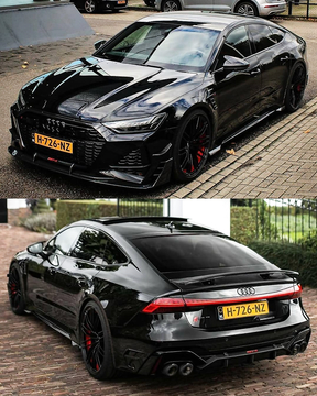 Black Edition Audi RS7-R ABT 740HP 1 of 150.