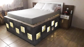 Now my bed is really my castle - Bed Idea. How to make a bed