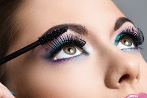 Eyelash lash Eyes Makeup Beautiful Glance Nose