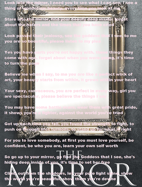 The Mirror -  that's very touching and beautiful!