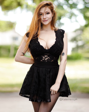 Red-haired model from Austria - Katerina Soria