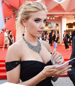 Scarlett Johansson is not playing games, she asked for 100 million dollars for...