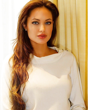 By God what a woman - Angelina Jolie!