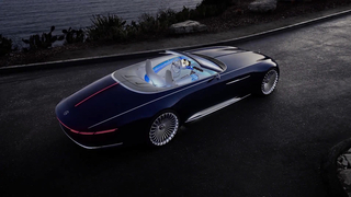 Vision Mercedes-Maybach 6 Cabriolet: Revelation of luxury