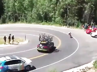That car saved him.