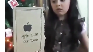 She thought she had the new i pad.