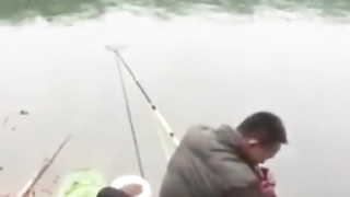 Smoking can cause you to lose a big fish. Lol