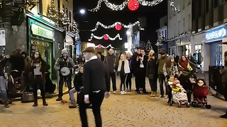 Galway. Awesome Street Dancing.