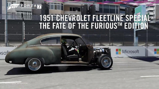 The Fate of the Furious Car Pack in Forza 7.