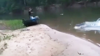 It's always easy to get fish from someone else then...