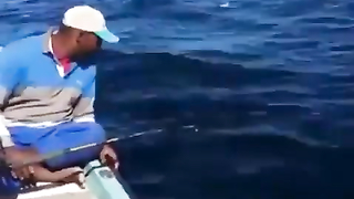 Automatic fishing rod.