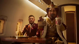 MCGREGOR MMA King VS Burger King.