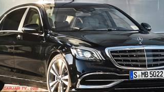 Mercedes Maybach S680.
