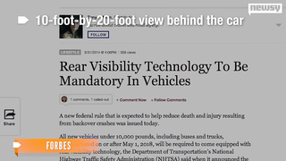 Rearview Cameras Required
