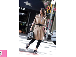 How To Wear  Style Trench Coats.