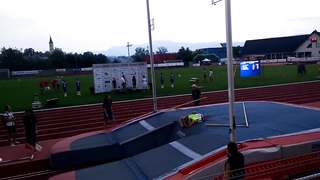 Epic pole vaulting fail