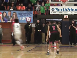 What a finish Evanston Township beats Maine South