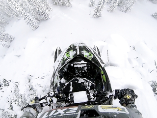 GoPro  Epic Snowmobile Drop