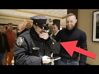 Conor McGregor's fans are SHOCKED by meeting him
